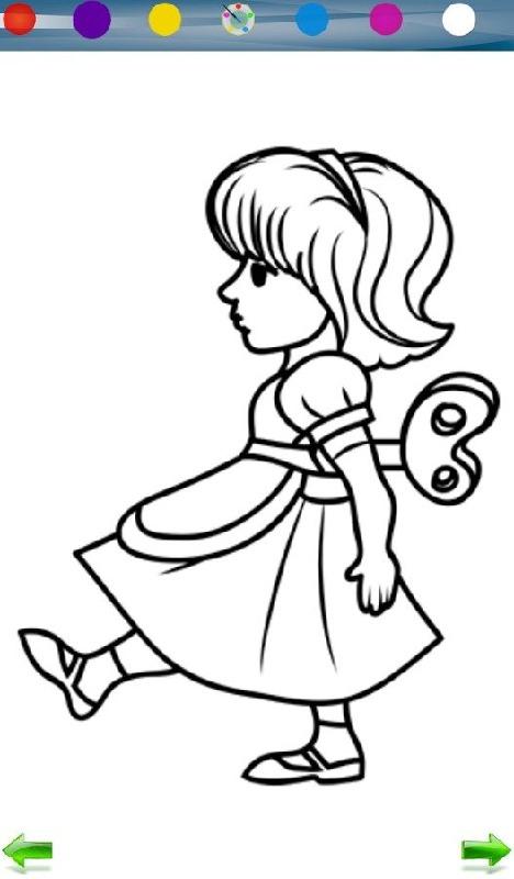 幼儿园小班苹果简笔画涂色