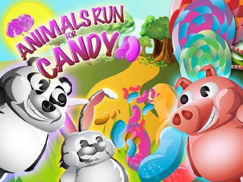 小动物收糖果