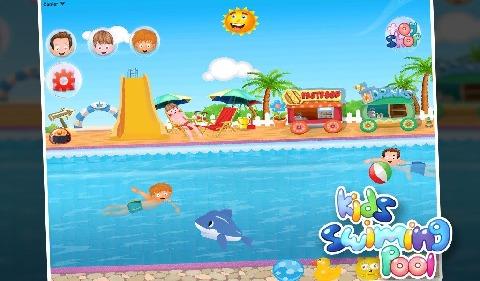 儿童游泳池电脑版
