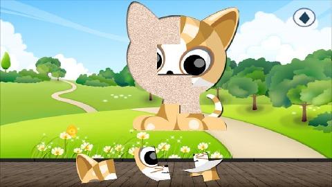 幼儿动物拼图电脑版