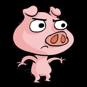 可爱的卡通小猪图片