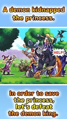 免費遊戲 《Witch Puzzle RPG》截图1