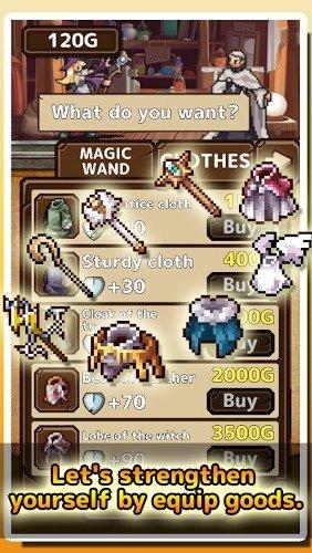 免費遊戲 《Witch Puzzle RPG》截图0