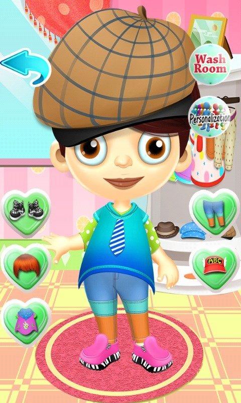 脏小孩化妆游戏电脑版