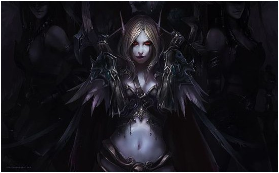 复仇之女神《风暴军团》锐利射手幽暗女王