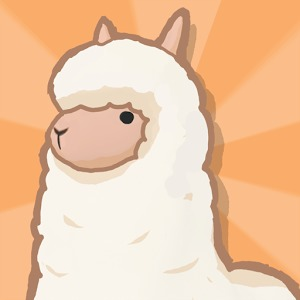 可爱卡通羊驼图片
