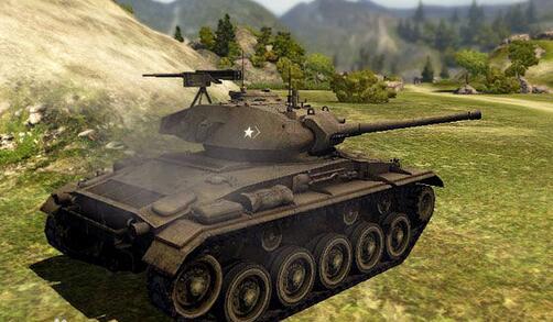 坦克指挥官 轻型之王 M24霞飞轻型主战坦克