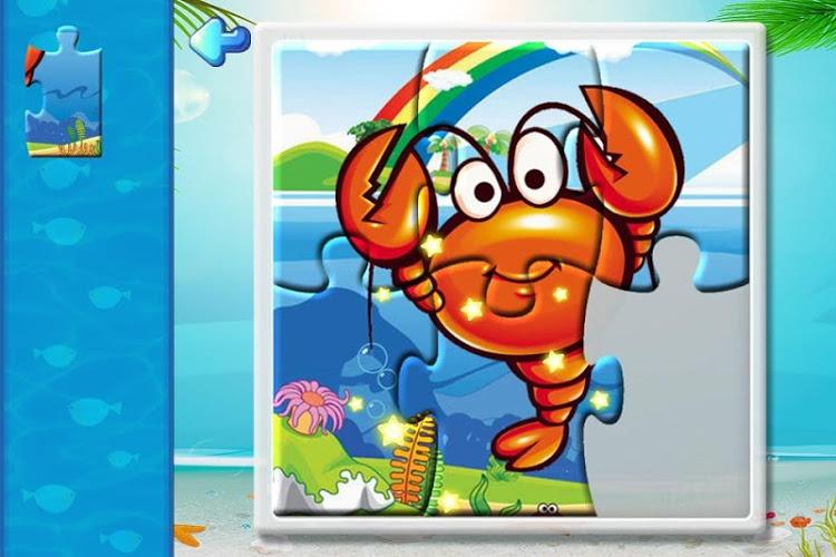 宝宝识字之海洋动物拼图游戏好玩吗?怎么玩?