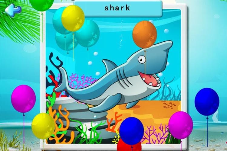 宝宝识字之海洋动物拼图游戏游戏介绍