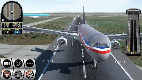 模拟飞行游戏,游戏中玩家可以驾驶各种各样的飞机在