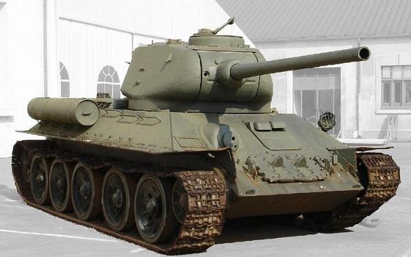 《坦克队长》t34主战坦克分析