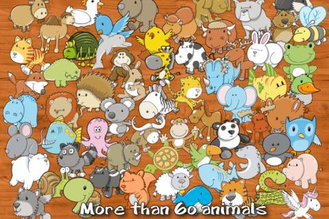 小动物拼图 animal learning puzzle 电脑版下载  游戏截图