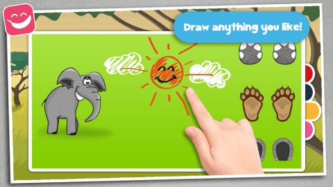 儿童益智卡通动物学知识