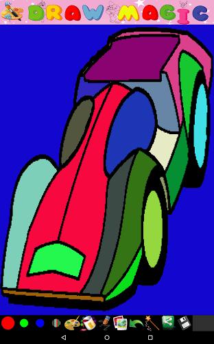 动物形状的小汽车画
