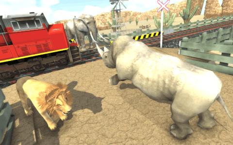 铁路野生动物非洲宠物