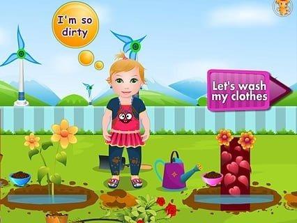 婴儿洗衣服电脑版
