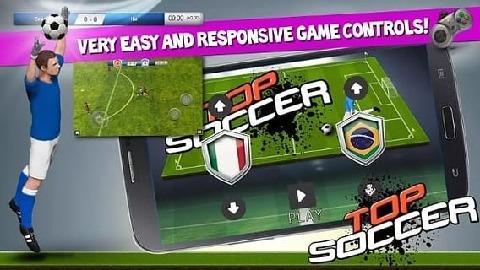 Top Soccer 欢迎来到顶尖的足球,手游图片欣赏