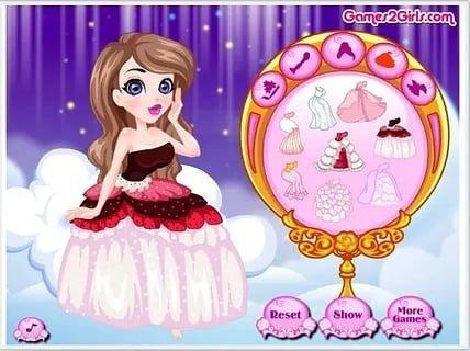 公主裙简笔画