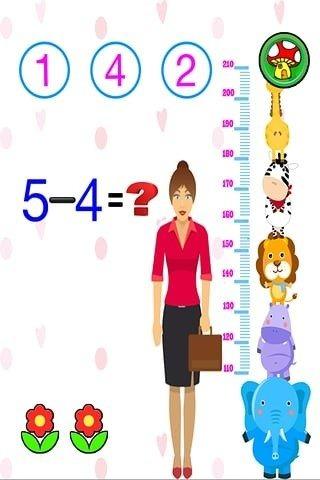 卡通数字图及可爱图片进行正确的算术对数学产生兴趣