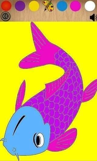 提供可爱的小鱼儿绘画素材