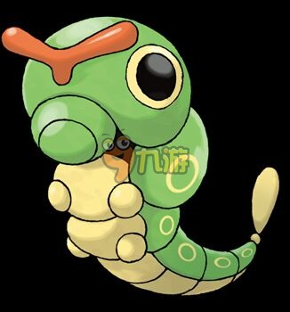 精灵/绿毛虫,芋虫神奇宝贝,特性是磷粉,老任应该一开始不会出隐藏...