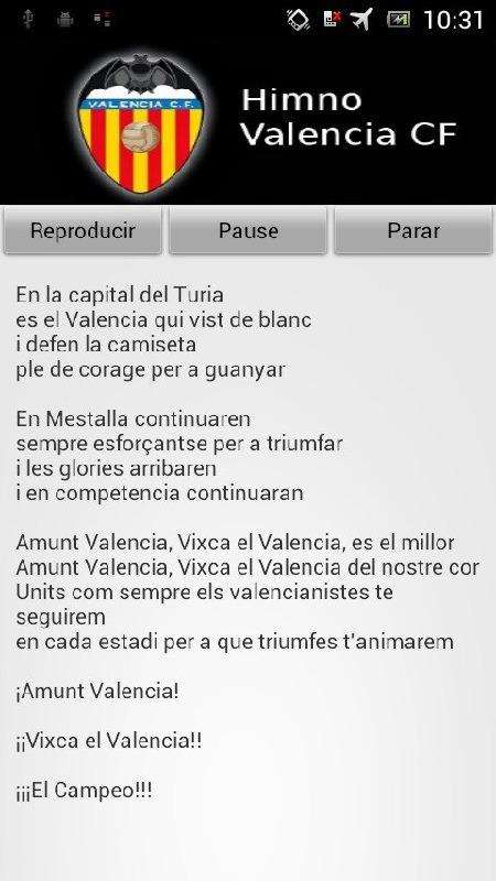 Himno Valencia CF手游图片欣赏