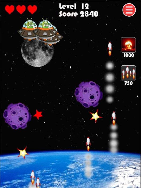 missile defense: ufo attack