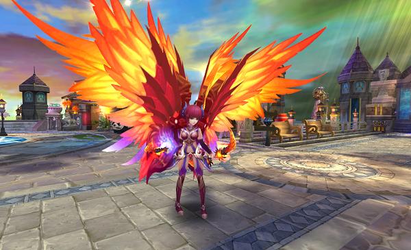 下面就让我们一起来提前看下游戏中翅膀的炫酷效果吧!