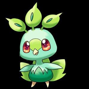 代表精灵: 孔雀精灵 简介:头顶的树叶可以感知触摸者的心情,与温柔的