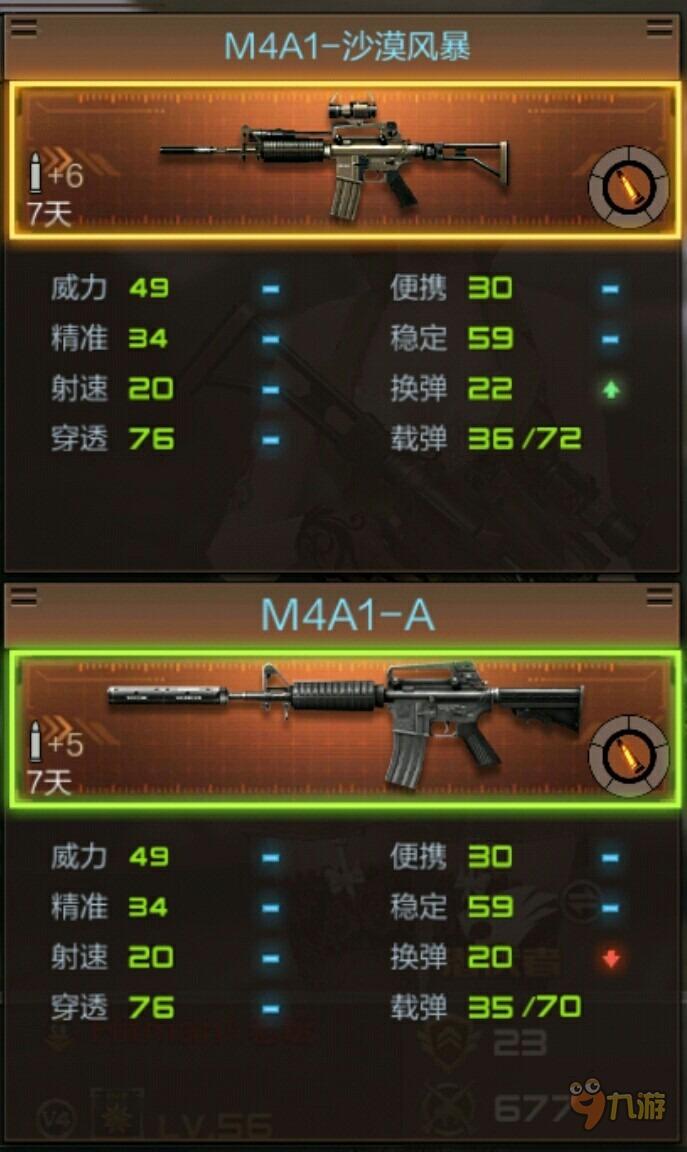 穿越火线CF手游无心之吻让你臣服 M4A1沙漠风暴