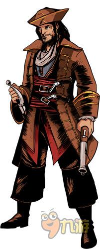 《刺客信条:海盗》主角Alonzo Batilla船长介绍