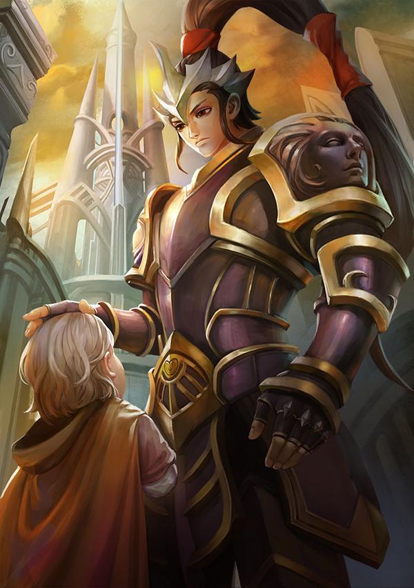 《翼神联盟》英雄介绍之总管