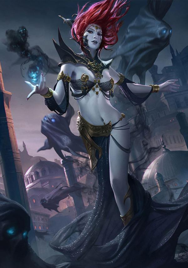 《翼神联盟》英雄介绍之堕天使