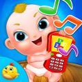 宝贝手机游戏的孩子