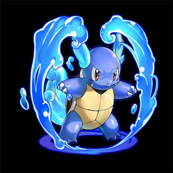 托���)�-_不良少年杰尼龟 《口袋妖怪联盟》最酷墨镜精灵