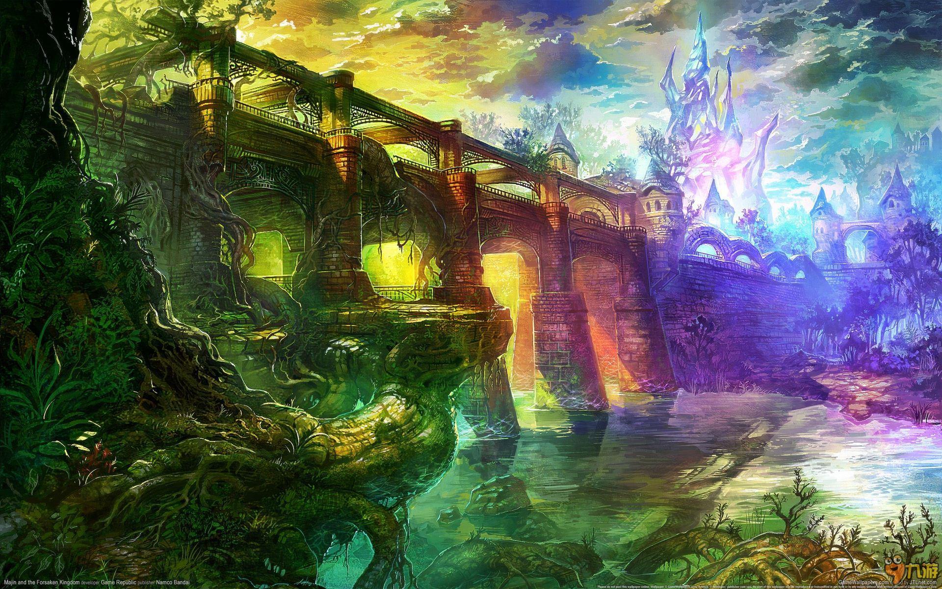 《魔人与被遗弃的王国》高清壁纸_九游手机游戏