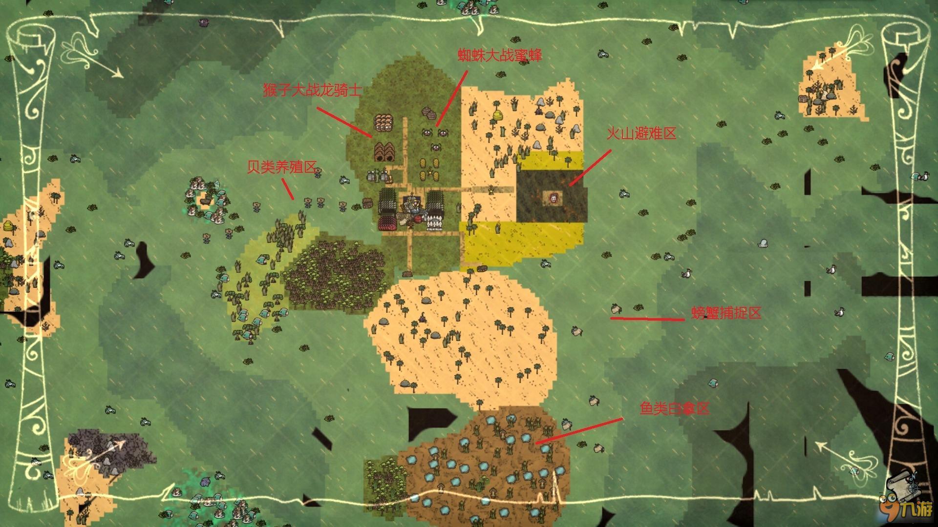 饥荒海难基地建设 饥荒海难优质地形及基地建设_九游手机游戏