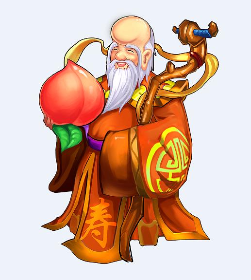 《童话少年西游记》人物曝光-寿星
