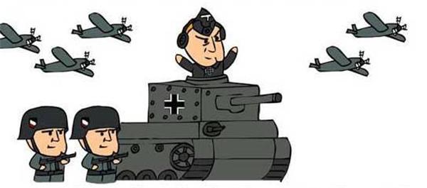 二战德军卡通头像