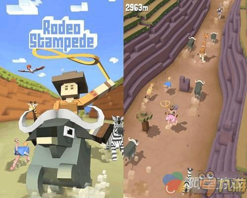 《疯狂动物园》这个游戏的玩法分两部分