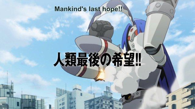 二次元中胸器即武器的机器人