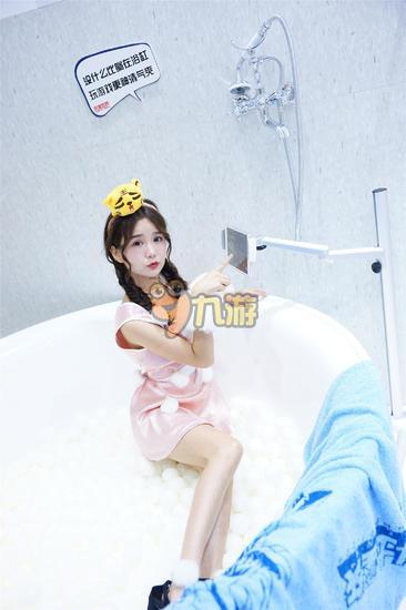完美世界最美showgir浴缸诱惑美女图片