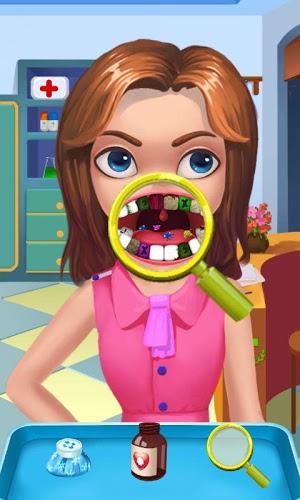 牙疼可怜卡通图片
