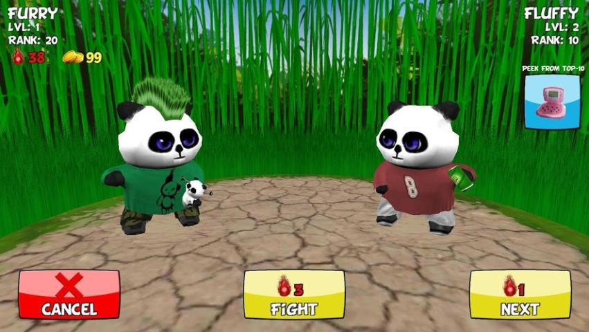 我的熊猫手游图片欣赏