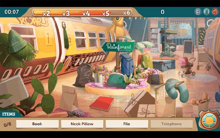 《疯狂动物城 Zootopia》是Disney根据电影疯狂动物城改编的手机游戏。一场令人难忘的隐藏物品与侦探冒险之旅!与来自疯狂动物城警察局的警官朱迪 霍普斯和狐尼克这对欢喜冤家联手,在这款超有趣的益智游戏中释放你的破案技巧!仔细搜寻犯罪现场,找到线索,分析证据,让和平与秩序重回疯狂动物城!携手熟悉的角色 与警官朱迪 霍普斯和狐尼克联手共事,还能呼叫疯狂动物城警察局内最优秀警官的支援,包括豹警官、格里兹利、拉诺维兹和牛局长。调查犯罪现场 好好利用你的动物本能,在疯狂动物城各处搜寻隐藏物品。搜集线索 拜访