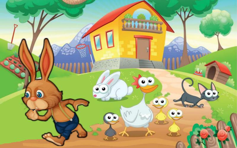 然而兔子兔子将不得不面对和克服许多危险了他的去路.