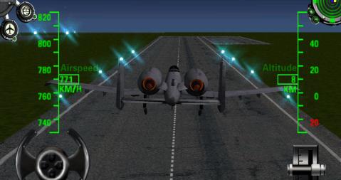 3d陆军飞机飞行模拟器游戏截图