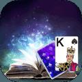 Solitaire Magic book Theme