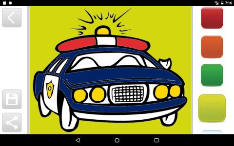 汽车图画书是最好的图画书游戏,婴儿和儿童3-10岁!