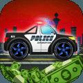 Police car racing for kids
